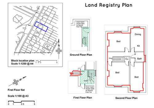 land registry plans bristol